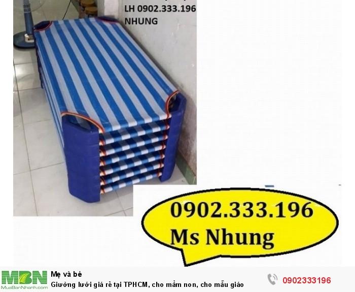 Giường lưới giá rẻ tại TPHCM, cho mầm non, cho mẫu giáo5