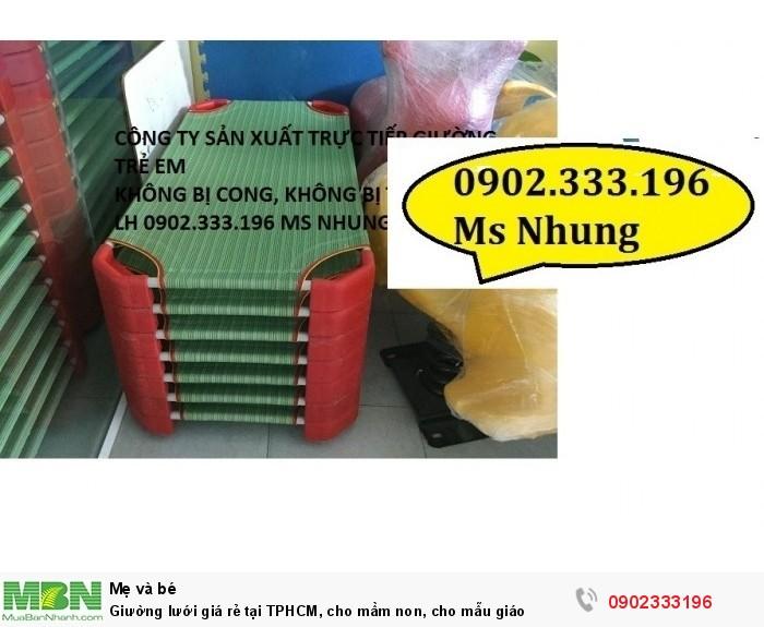 Giường lưới giá rẻ tại TPHCM, cho mầm non, cho mẫu giáo6