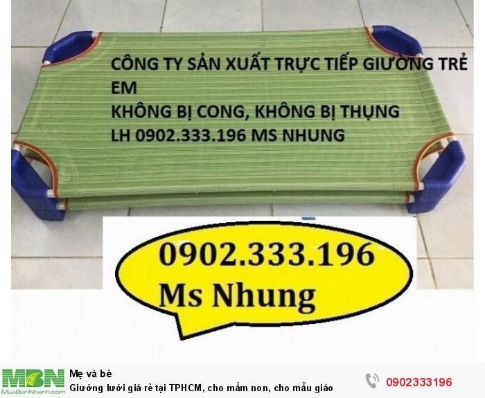Giường lưới giá rẻ tại TPHCM, cho mầm non, cho mẫu giáo7