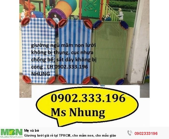 Giường lưới giá rẻ tại TPHCM, cho mầm non, cho mẫu giáo8