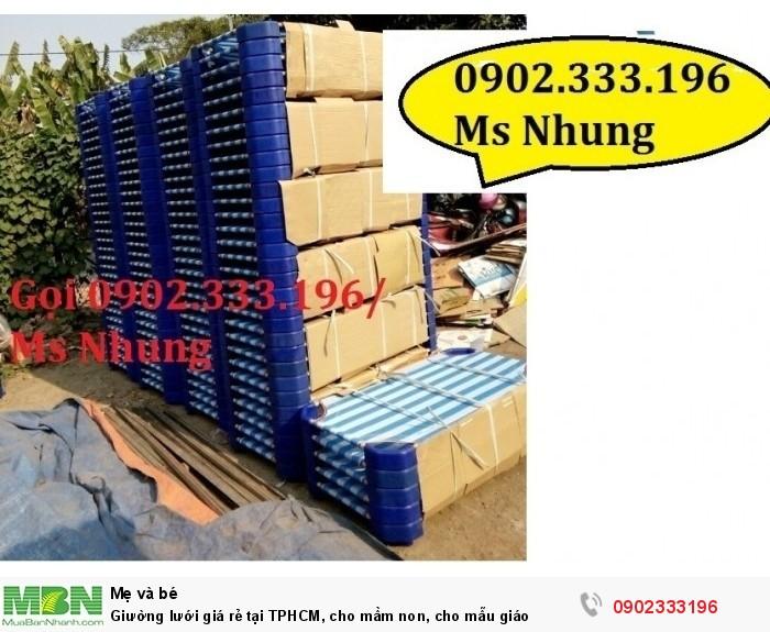 Giường lưới giá rẻ tại TPHCM, cho mầm non, cho mẫu giáo9