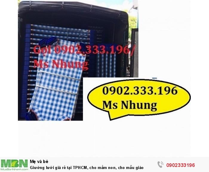 Giường lưới giá rẻ tại TPHCM, cho mầm non, cho mẫu giáo10