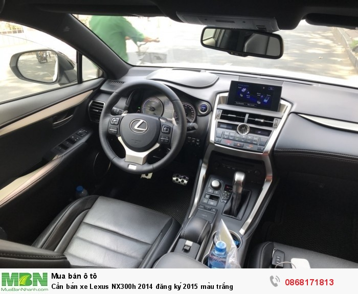 Lexus NX 300h sản xuất năm 2014 Số tự động Động cơ Xăng