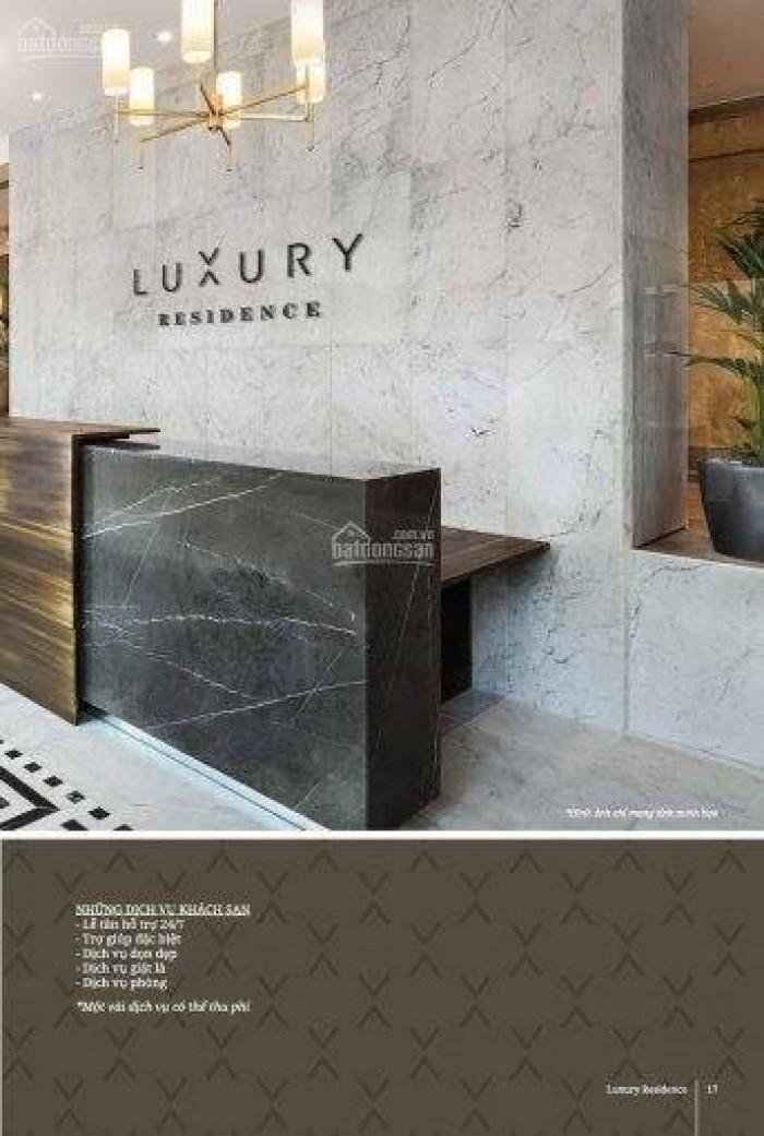 Bán căn hộ cao cấp Luxury Resdience Bình Dương,1pn dt 50m2 .TT 30% nhận nhà