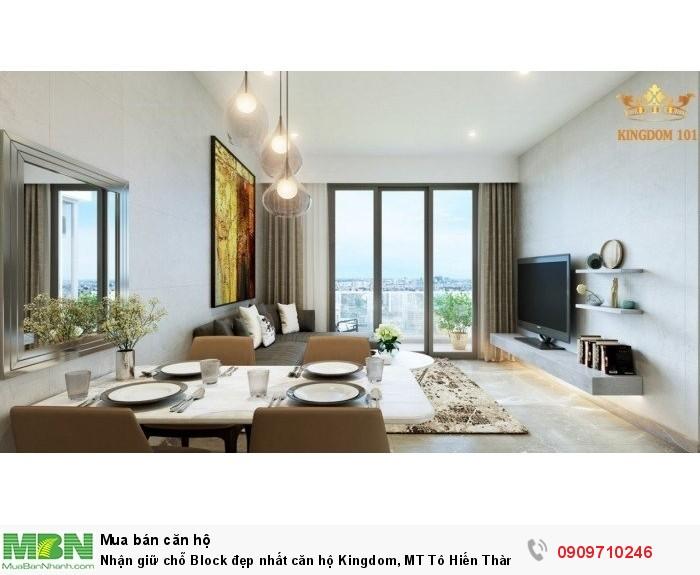 Nhận giữ chỗ Block đẹp nhất căn hộ Kingdom, MT Tô Hiến Thành.