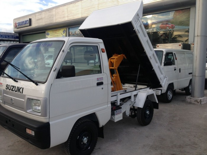 Bán đúng giá xe tải Ben 500kg Carry Truck thương hiệu SUZUKI NHẬT BẢN