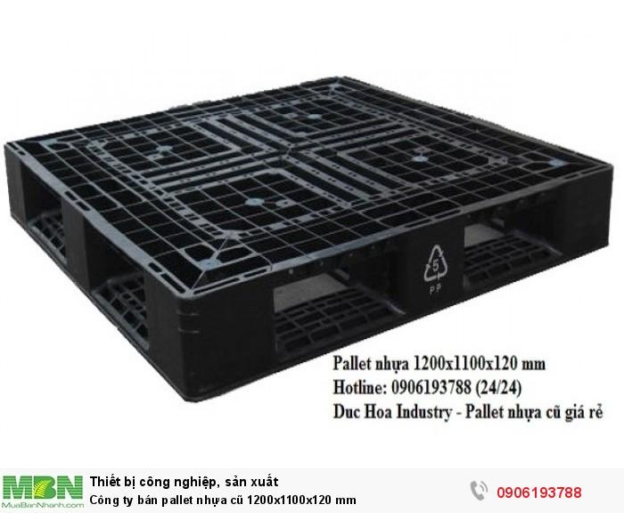 Công ty bán pallet nhựa cũ 1200x1100x120 mm tại tphcm - Liên hệ: 0906193788 (24/24)0