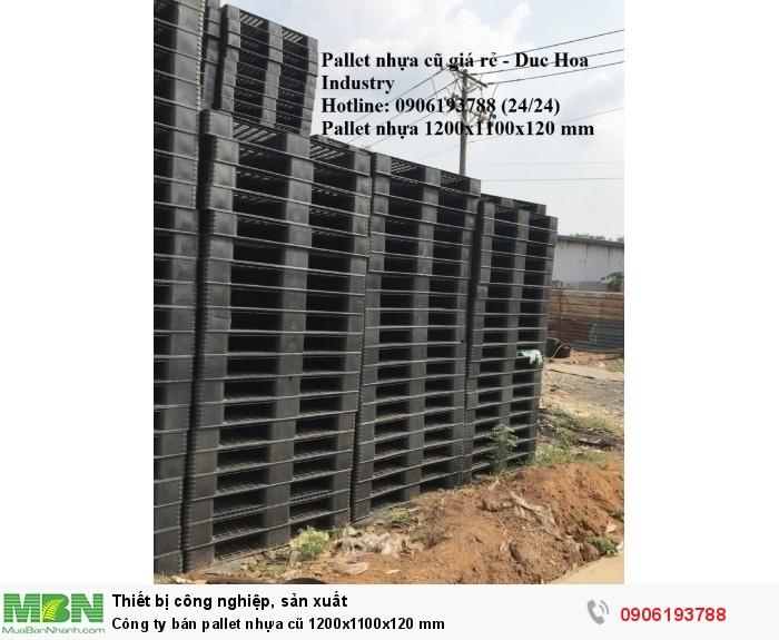 Kho pallet nhựa cũ 1200x1100x120 mm tại tphcm - Liên hệ: 0906193788 (24/24)1