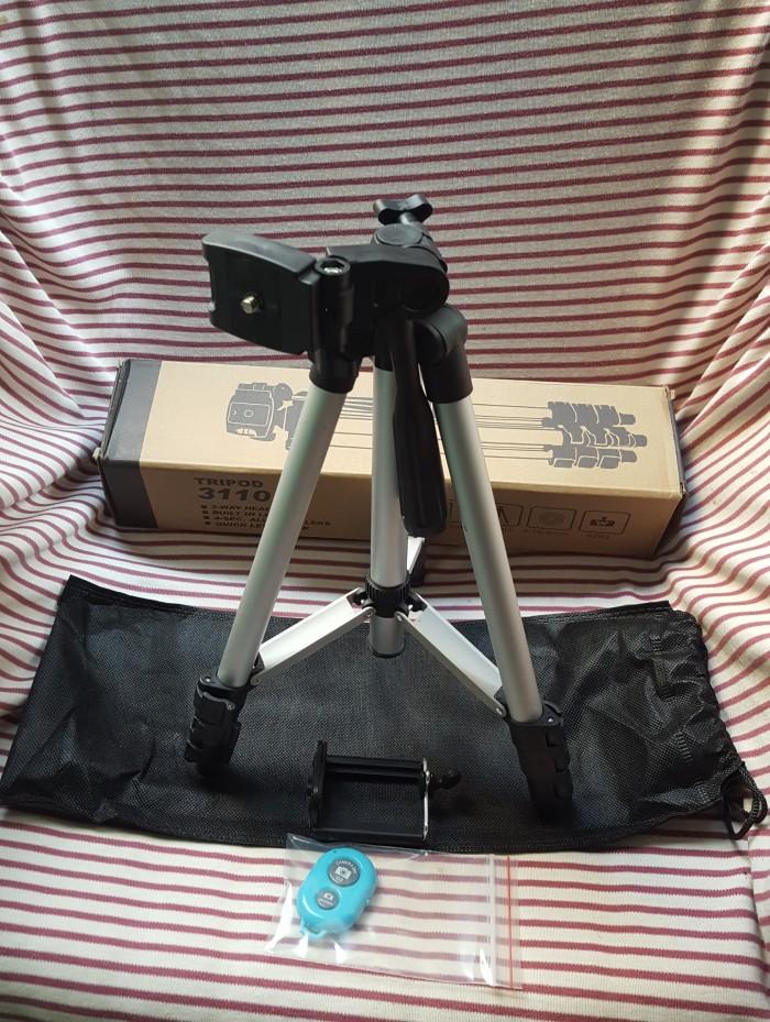 Chân giá đỡ máy chụp ảnh/ quay phim Tripod TF 3110 + Giá đỡ điện thoại + Remote6