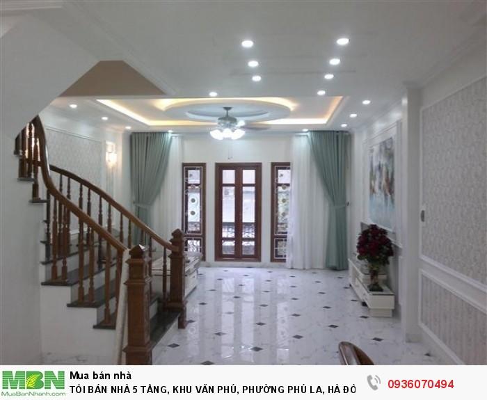 Tôi Bán Nhà 5 Tầng, Khu Văn Phú, Phường Phú La, Hà Đông (Kinh Doanh Tốt)