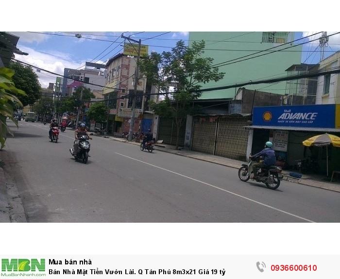 Bán Nhà Mặt Tiền Vườn Lài. Q Tân Phú 8m3x21