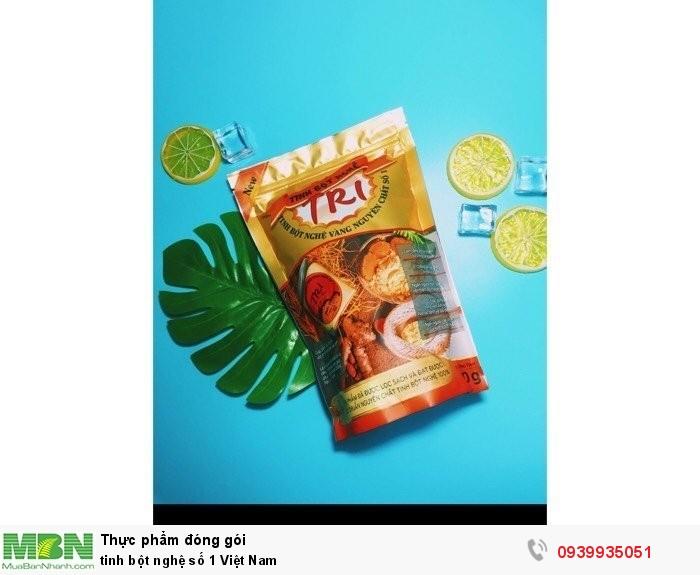Tinh bột nghệ số 1 Việt Nam4