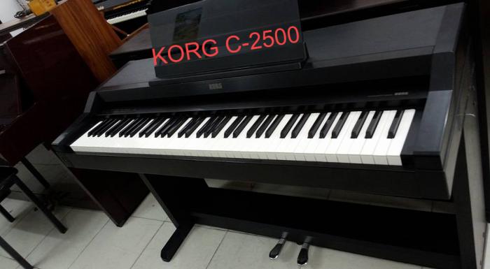 Piano korg C8000