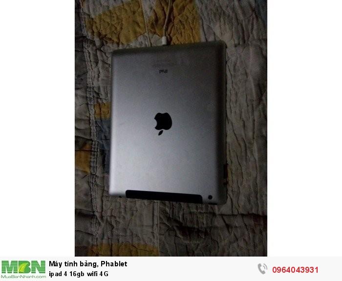 Ipad 4 16gb wifi 4G2