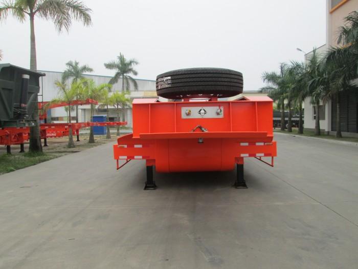 Somi Romooc tải chở xe  máy chuyên dùng