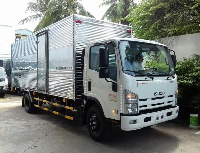 Xe tải Isuzu NQR75ME4 | Xe Isuzu 5T5 – 5.5T – 5.5 tấn – Thùng 6.2M