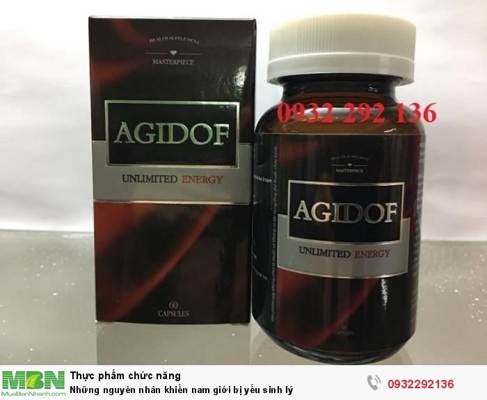 Thực phẩm bảo vệ sức khỏe AGIDOF có thành phần chiết xuất cao Bá bệnh và L Arginine có tác dụng cải thiện tốt cho các vấn đề sinh lý của nam giới. Liên hệ: 0932 292 136 để được tư vấn vào giao hàng