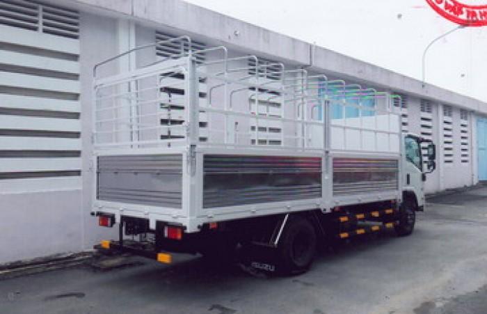 Bán trả góp xe Isuzu 5.5 tấn NQR75ME4 thùng mui bạt dài GIẢM 50% GIÁ THÙNG