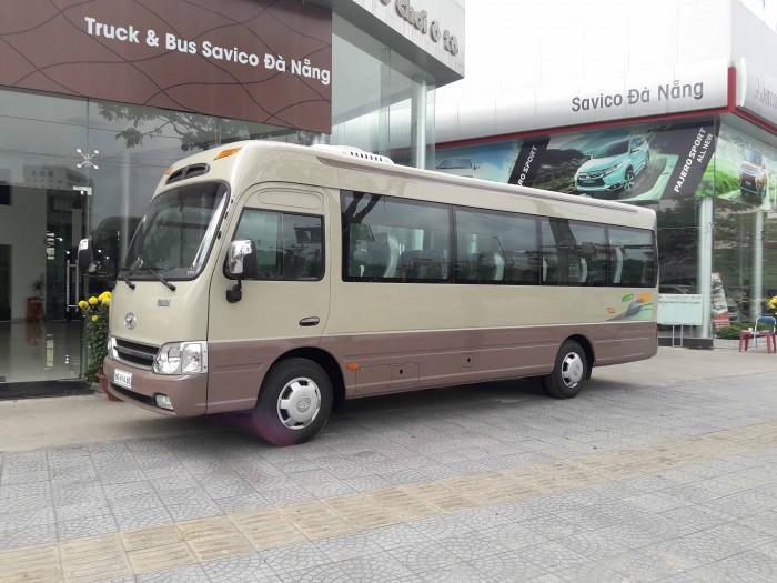 Bán Xe Hyundai County Limousine Long Nhập Khẩu Giá Rẽ  Mẫu Mã Đẹp 4