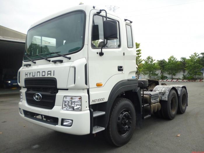 Bán Xe Hyundai Đầu Kéo HD 1000 Nhập Khẩu Nguyên Chiếc Mẫu Mã Đẹp 1