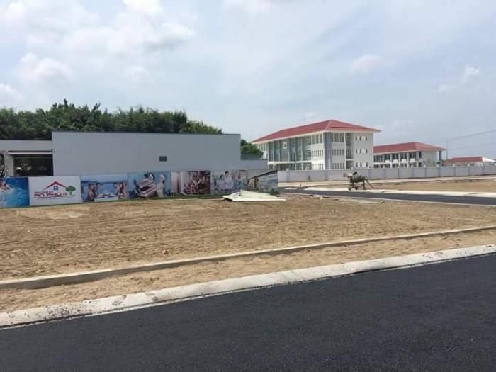 105m2 đất thổ cư, Mặt tiền Tỉnh lộ 10, KDC Minh Trường Central Land, SHR, XDTD