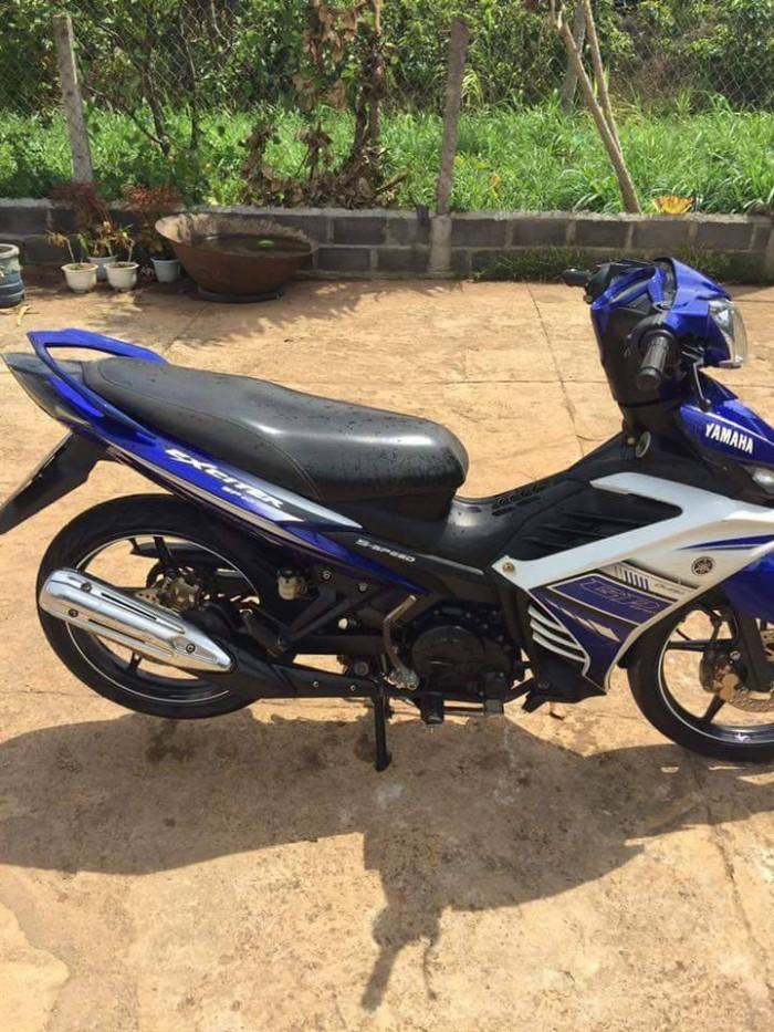 Bán xe máy cũ trả góp_Yamaha Exciter 135 côn tay