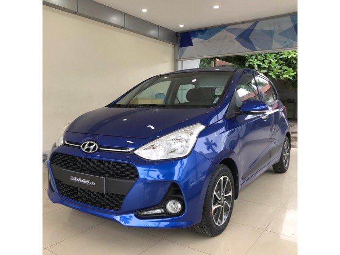 Hyundai I10 1.2AT 2018 màu xanh
