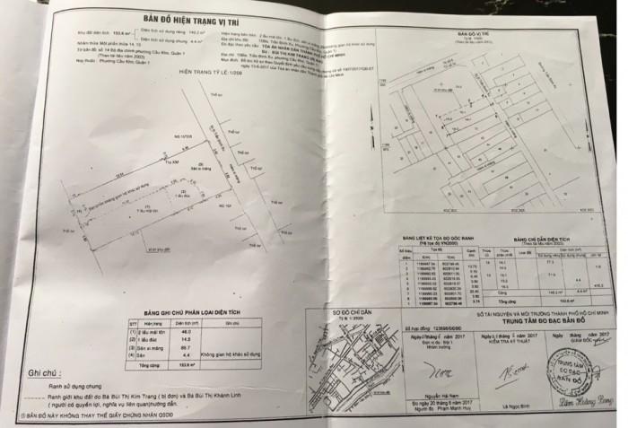 HXH Trần Đình Xu 7.6x20, 17 tỷ gần Võ Văn Kiệt Q1