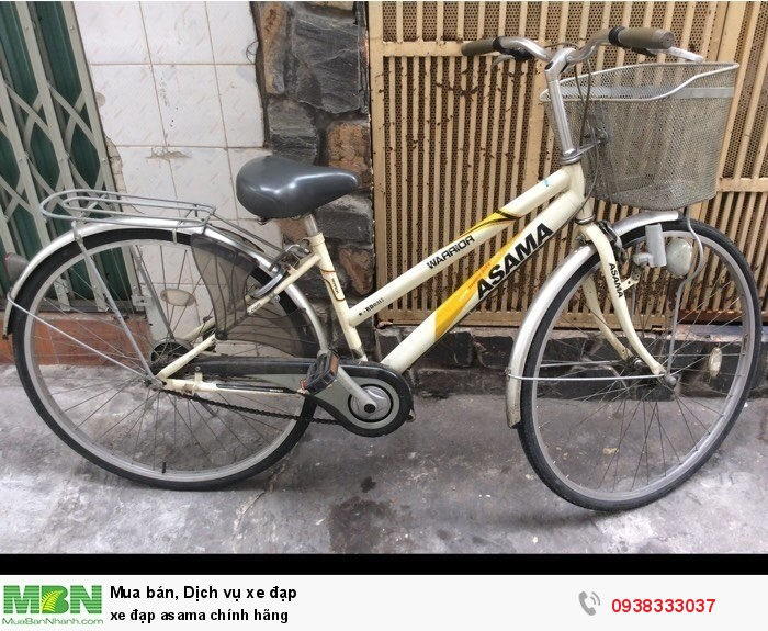 Xe đạp Asama chính hãng