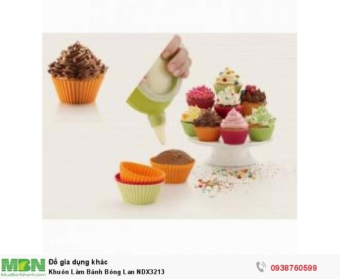 Khuôn Làm Bánh Bông Lan NDX32130