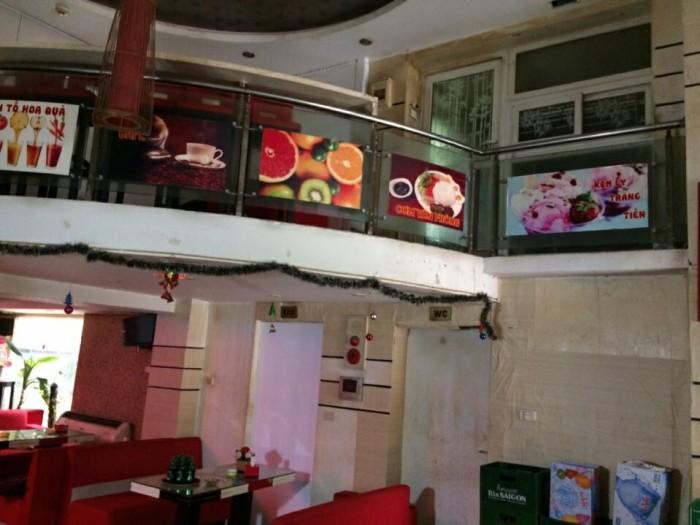 Sang nhượng nhà hàng cà phê - karaoke DT 70 m2 x 3 tầng gần phố Vương Thừa Vũ Q.Thanh Xuân Hà Nội