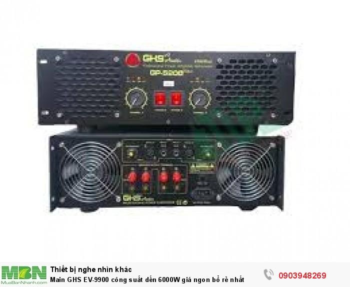 - Công suất: 6000W - Transistor công suất: 60 con TOSHIBA - Tăng phô lớn 35A x 2 -16 Tụ lọc nguồn -2 cánh quạt gió làm mát, sử dụng lâu không nóng1