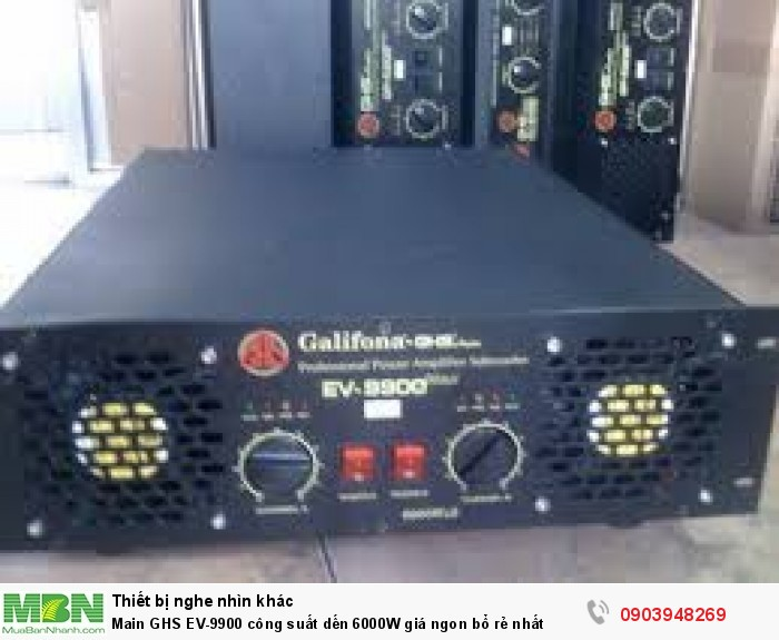 Điện Máy Hải bán giá chỉ có 6.400K. Nói chung cục đẩy Galiforna EV-9900 hội đủ các điều kiện ngon bổ rẻ nhất so với các dòng Main cùng công suất có mặt hiện nay trên thị trường Việt Nam2