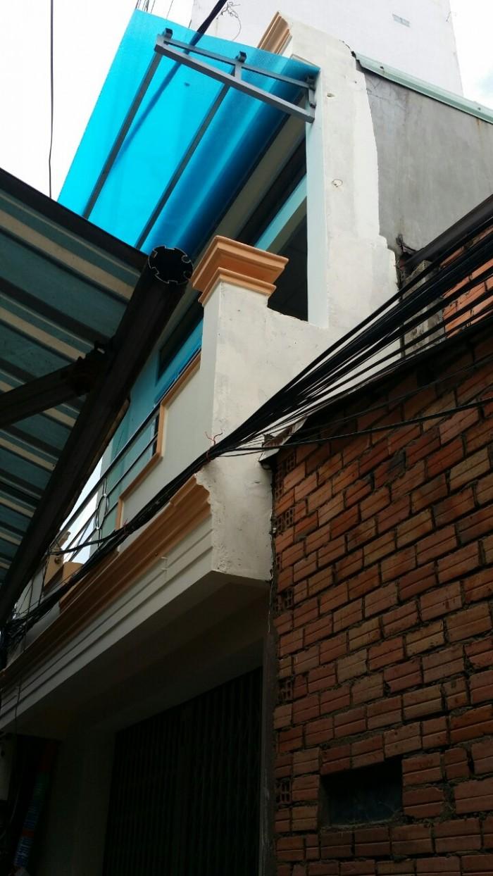Nhà hẻm giá rẻ đường Gò Dầu , DT 4m x 5m