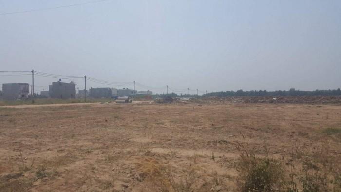 Đất thổ cư 100%, mặt tiền đường Trịnh Quang Định huyện Bình Chánh