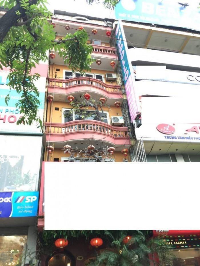 Bán nhà mặt phố Hoàng Quốc Việt Cầu Giấy, 80m2 5,5 tầng mặt tiền 5m 33,5 tỷ