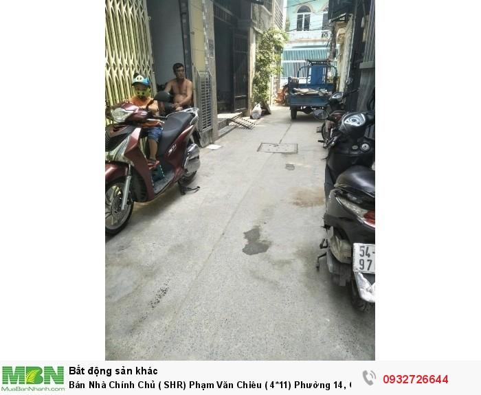 Bán Nhà Chính Chủ ( SHR) Phạm Văn Chiêu ( 4*11) Phường 14, Gò Vấp.