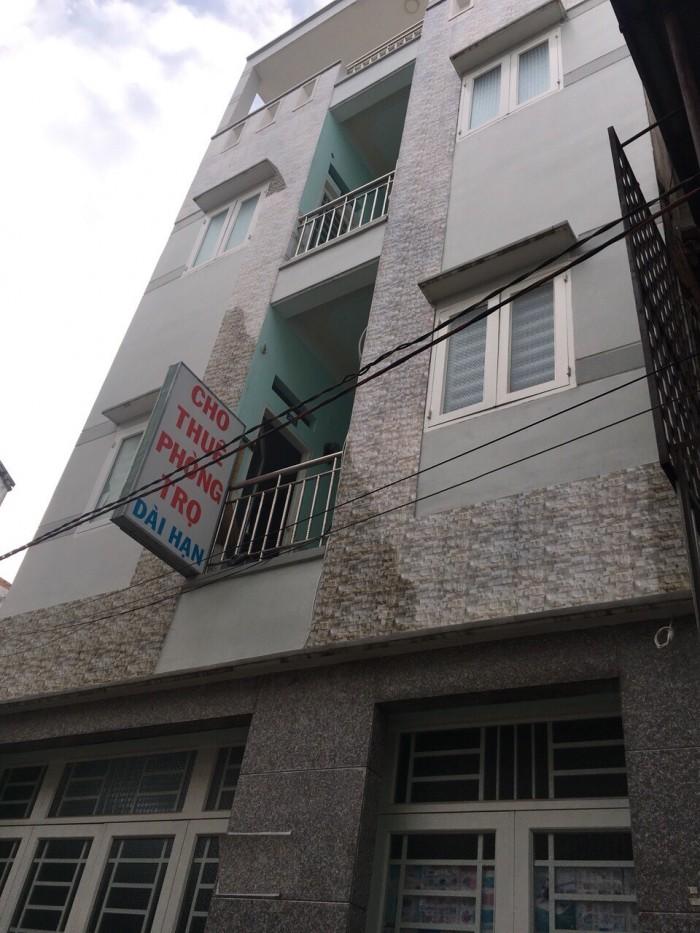 Nhà Trọ 319/3 Lê Trọng Tấn, 6x28m, đúc 3 lầu, gồm 33phòng trọ đang cho thuê.