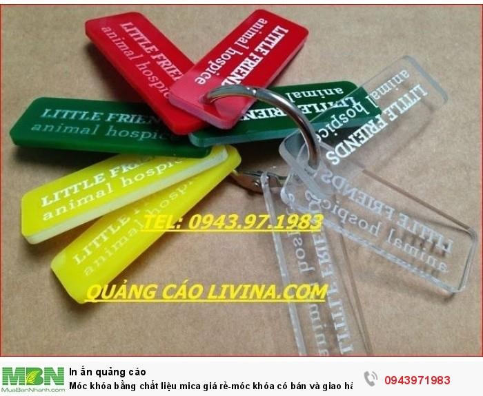 Móc khóa bằng chất liệu mica giá rẻ-móc khóa có bán và giao hàng trên toàn quốc0