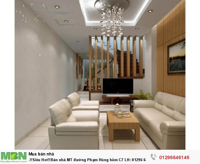 -!!Siêu Hot!!Bán nhà MT đường Phạm Hùng hẻm C7