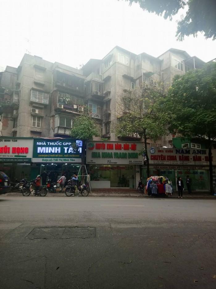 Mặt Phố Trần Hưng Đạo 40/86 m2, vỉa hè rộng, kinh doanh siêu đỉnh.