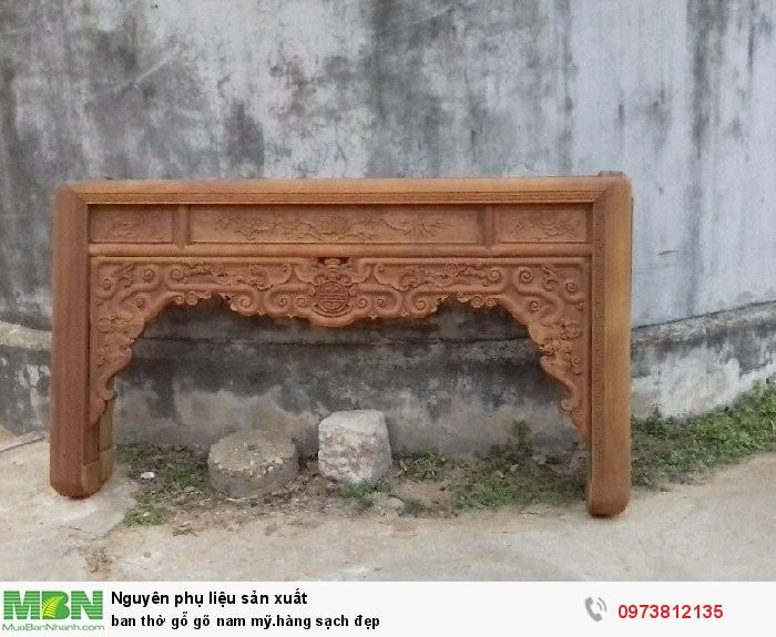 Bàn thờ gỗ gõ Nam Mỹ.hàng sạch đẹp2