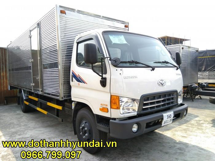 Hyundai HD120SL 8 tấn thùng kín 6m3 0