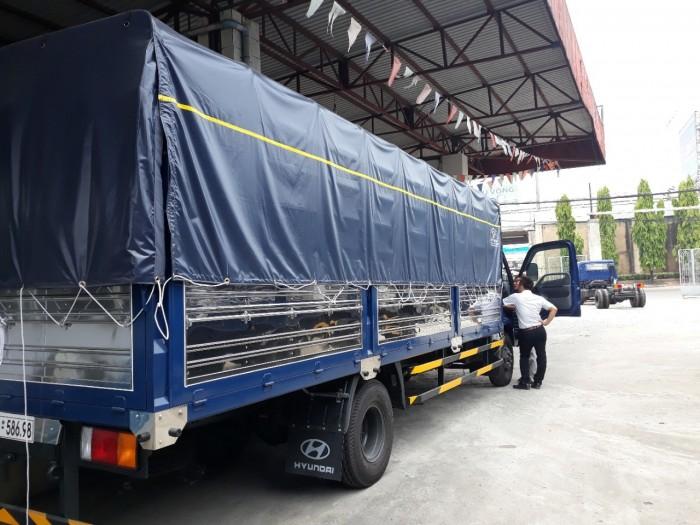 Giá xe tải Hyundai 120SL Xe Tải Huyndai 8 Tấn Thùng Mui Bạt dài 6m2  khuyến mãi ngay 15 triệu thuế trước bạ 1
