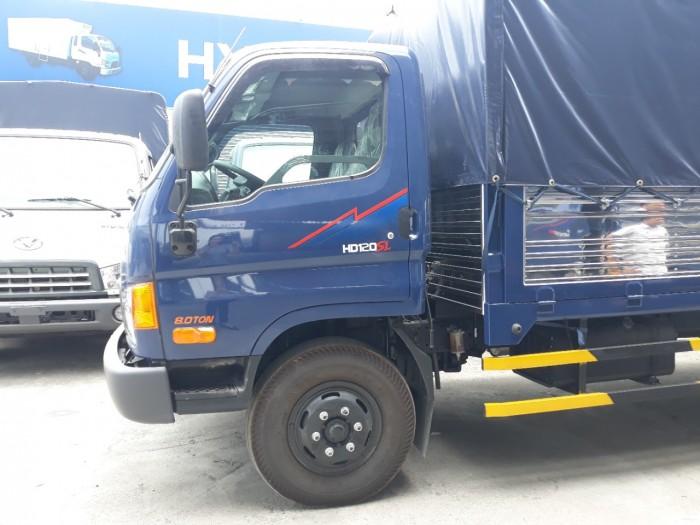 Giá xe tải Hyundai 120SL Xe Tải Huyndai 8 Tấn Thùng Mui Bạt dài 6m2  khuyến mãi ngay 15 triệu thuế trước bạ 3