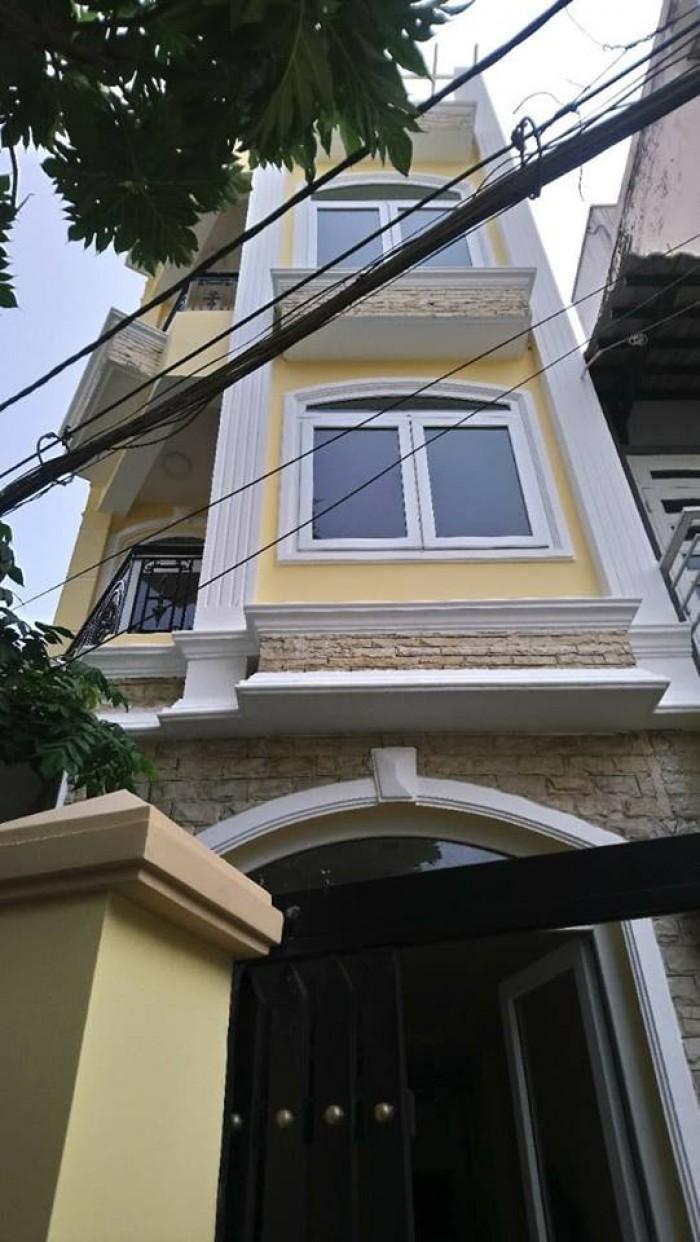 Bán nhà Nguyễn Kiệm, Phường 3, Gò Vấp nhà đẹp 4 tầng giá 4.6 tỷ.