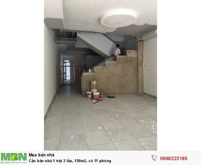 Cần bán nhà 1 trệt 2 lầu, 150m2, có 11 phòng