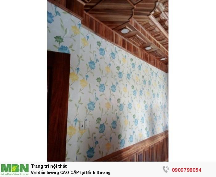 Vải dán tường CAO CẤP tại Bình Dương