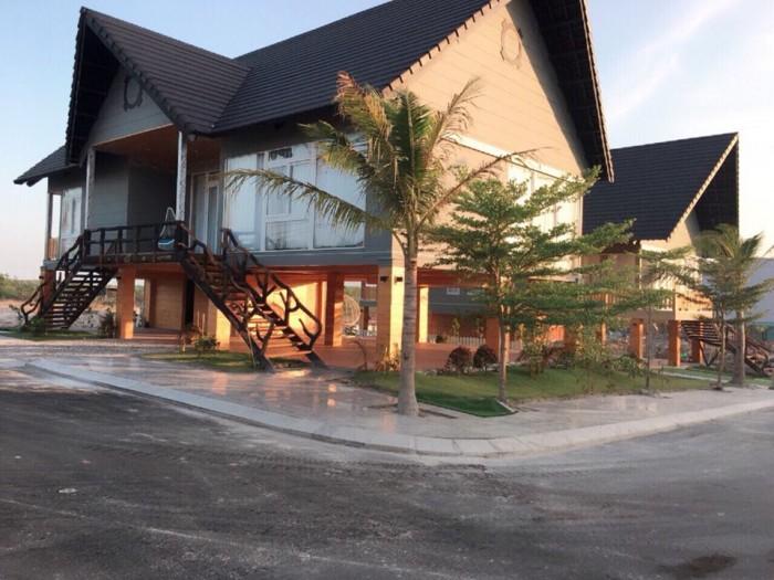 Villa kiểu thái ở suối nước nóng Bình Châu