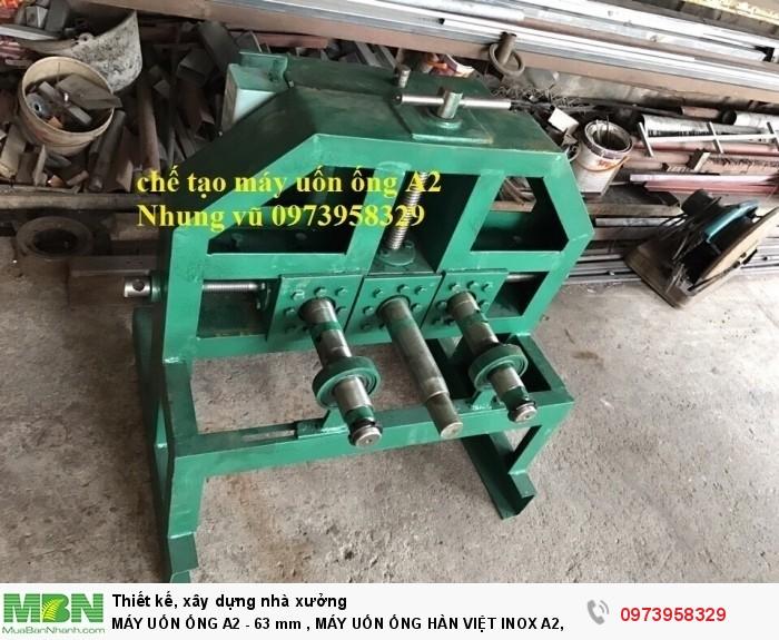 Máy Uốn Ống A2 - 63 Mm  , Máy Uốn Ống Hàn Việt Inox A2, Ba4-76 Mm, A2-2hp, A2phi 16 -63)